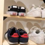 シューズラックDIY!おしゃれな靴棚の設計から作り方。スッキリ片付きました。